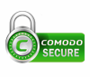This Site is Secured with a COMODO SSL Certificate